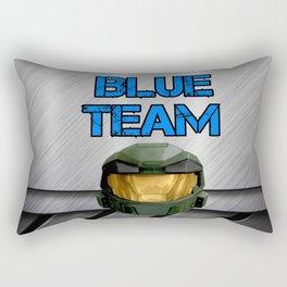 Blue Team Rectangular Pillow