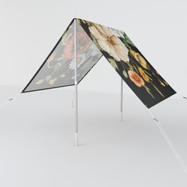 Wildflower Bouquet on Charcoal Sun Shade