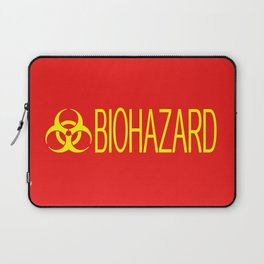 HAZMAT: Biohazard (Red & Yellow) Laptop Sleeve
