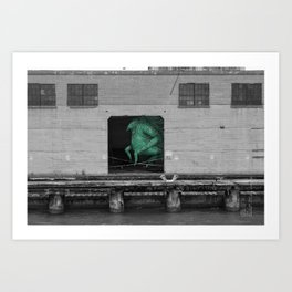Unseen Monsters of San Francisco - Frankso Tonkfancy Art Print