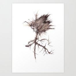 Stickman  Art Print