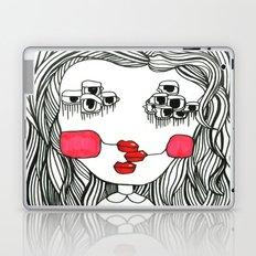 Monster with Cheeks Laptop & iPad Skin