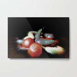 Fruit warp Metal Print