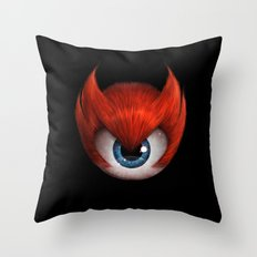 The Eye of Rampage Throw Pillow