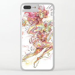 mother of fire Clear iPhone Case
