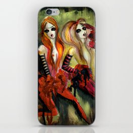 Twins 1 of 3 iPhone Skin