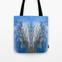 tree of life Tote Bags featuring Life Tree by Robert Gipson