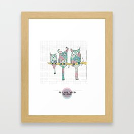 LOVE IN PUR OPINION - ALL YOU NEED IS LOVE Framed Art Print
