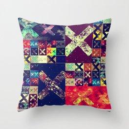 XX (xx) Throw Pillow