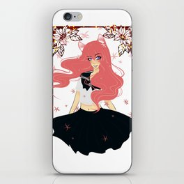 Kawaii Neko Anime Girl iPhone Skin