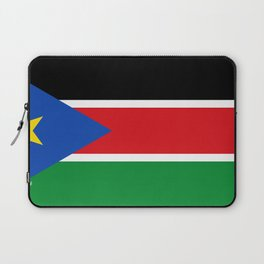South Sudan Flag Laptop Sleeve
