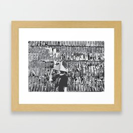 Remembering Jayne Framed Art Print