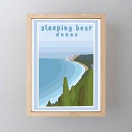 Sleeping bear dunes Michigan  Framed Mini Art Print