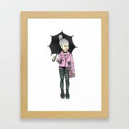STYLISH GRANNY 3 Framed Art Print