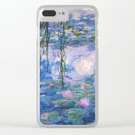 Claude Monet - Water lilies Clear iPhone Case