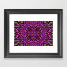 Mandala 2 Framed Art Print