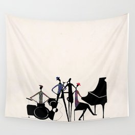 Blue note Wall Tapestry