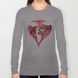 Heart world Long Sleeve T-shirt