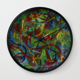 Directionless II Wall Clock