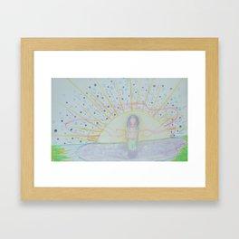 """Birth"" Framed Art Print"