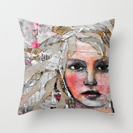 Layered Throw Pillow