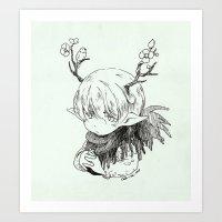 kambing kecil Art Print