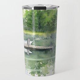 A Summer Pond Travel Mug