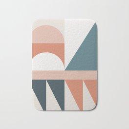Cirque 03 Abstract Geometric Bath Mat
