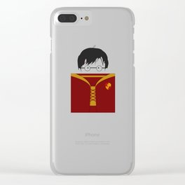 The Gryffindor Quidditch team's uniform Clear iPhone Case