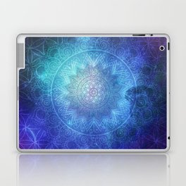 Abstract Flower of life Deep Space Laptop & iPad Skin
