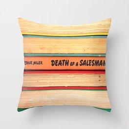 Death of A Salesman Throw Pillow