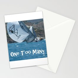 Sailing One Too Many Stationery Cards