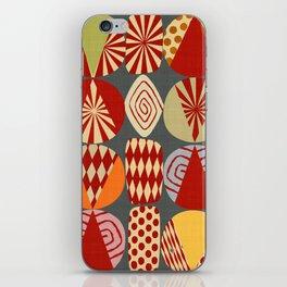 christmas tree MINIMALIST iPhone Skin