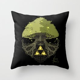 Deku Tree Full Colour Throw Pillow