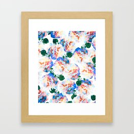 Wild Flora #society6 #decor #buyart Framed Art Print