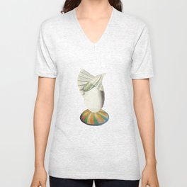 Il clown e la ziodda Unisex V-Neck