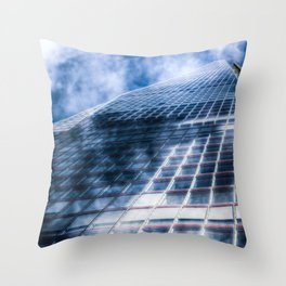 The Shard Abstract Throw Pillow