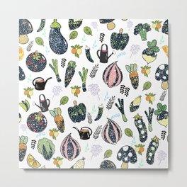 The veggie garden  Metal Print