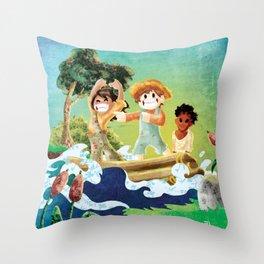 Tom Sawyer Throw Pillow