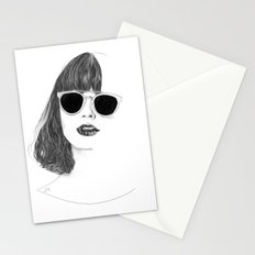 Hair Study #2 Stationery Cards