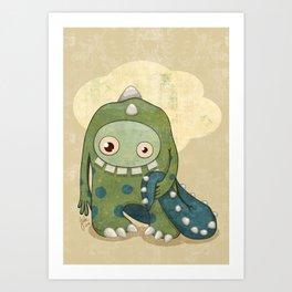 Monster-03 Art Print