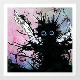 Rose tinted Monster Art Print