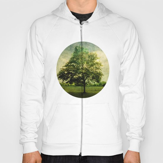 The Textured Tree  Hoody