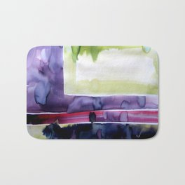 Landscape with Argonauts - Abstract 0023 Bath Mat