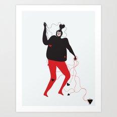 lovetangles Art Print