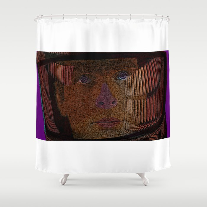 2001: A Space Odessey Shower Curtain
