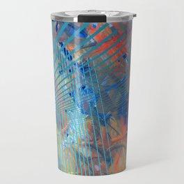 Abstract and Constructive expression Travel Mug