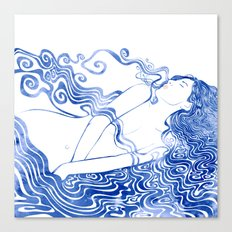 Water Nymph LXVII Canvas Print
