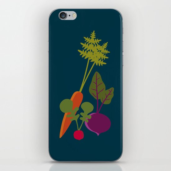 Vegetable Medley iPhone & iPod Skin
