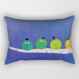 Four Fat Chaps Rectangular Pillow